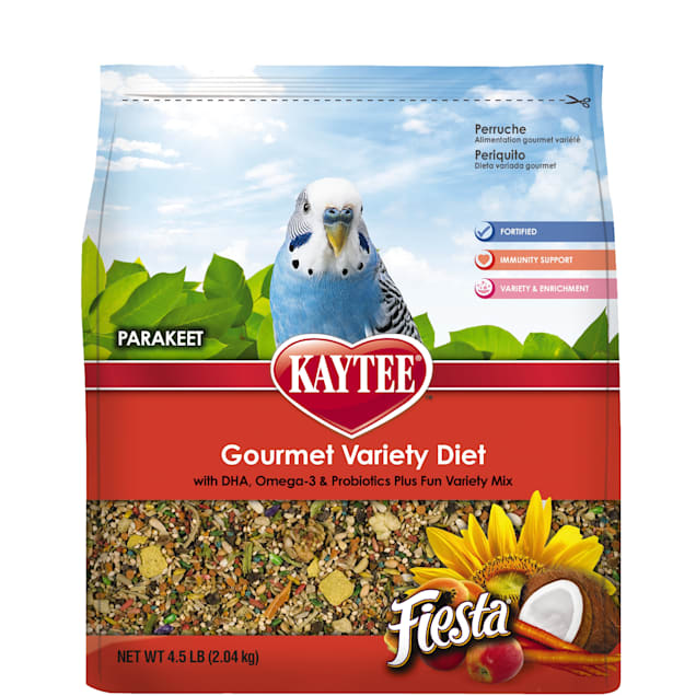 Kaytee Fiesta Bird Food for Parakeets - Carousel image #1