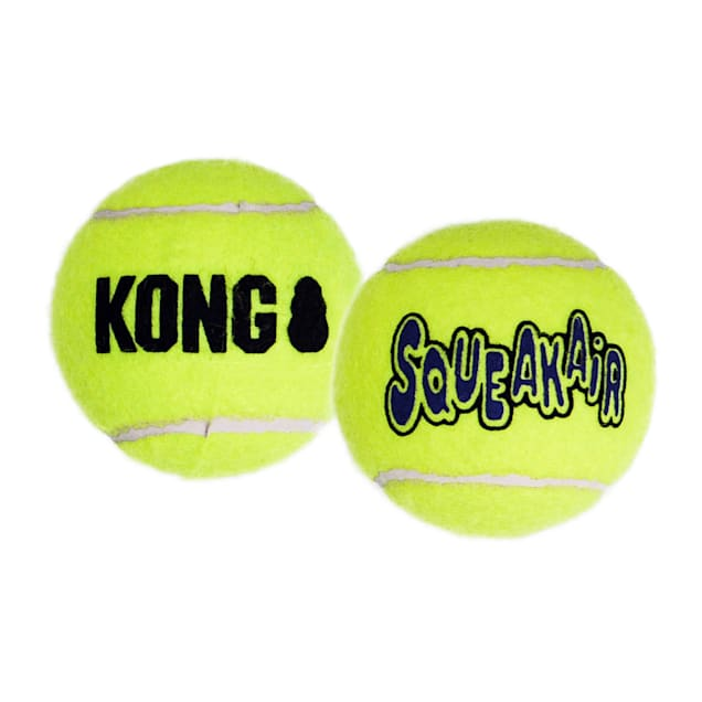 KONG SqueakAir Tennis Balls Pack of 2, Large - Carousel image #1