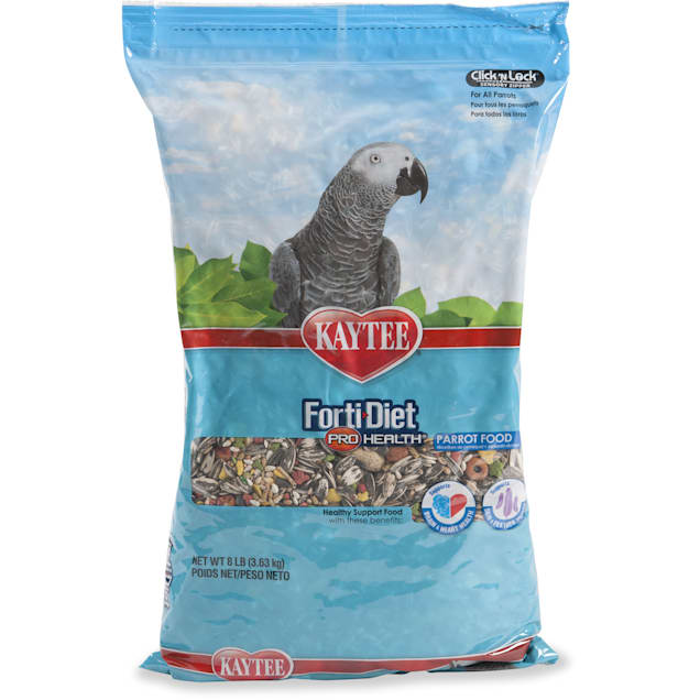 Kaytee Forti-Diet Pro Health Healthy Support Diet for Parrots, 8 lbs. - Carousel image #1