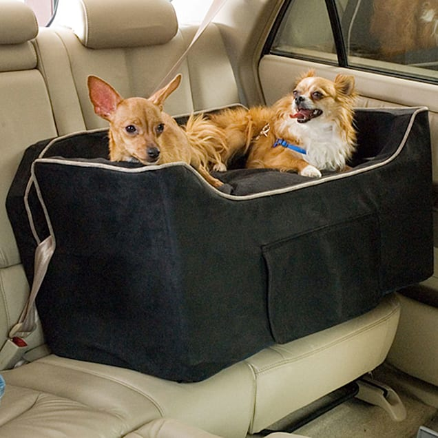 Snoozer Black Luxury Lookout II Double Dog Car Seat - Carousel image #1