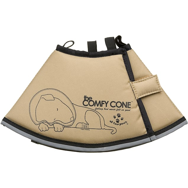 All Four Paws Tan Comfy Cone, Small - Carousel image #1