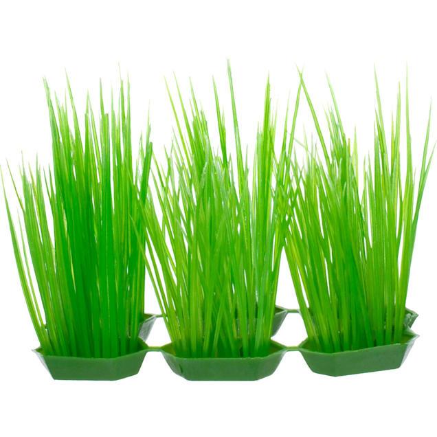 Imagitarium Green Foreground Plastic Aquarium Plants - Carousel image #1