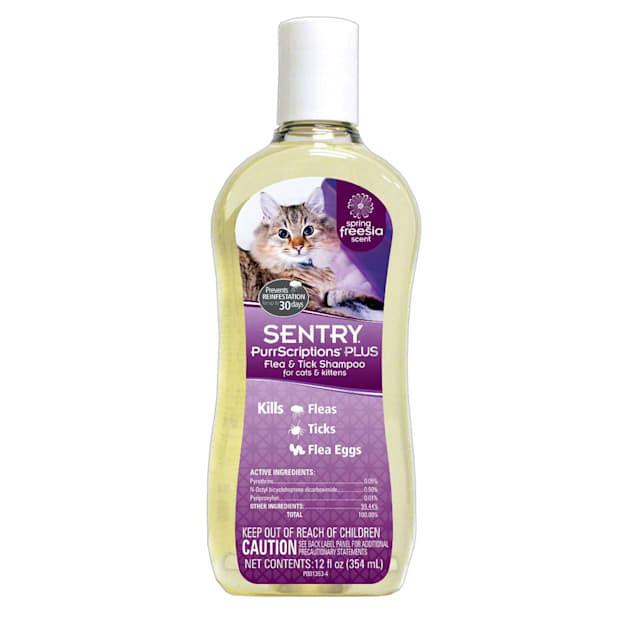 Sentry PurrScriptions Plus Flea & Tick Shampoo for Cats & Kittens - Carousel image #1