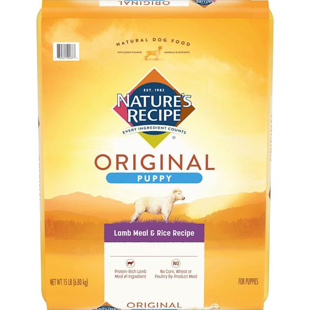 Nature's Recipe Puppy Lamb Meal & Rice Formula - Carousel image #1