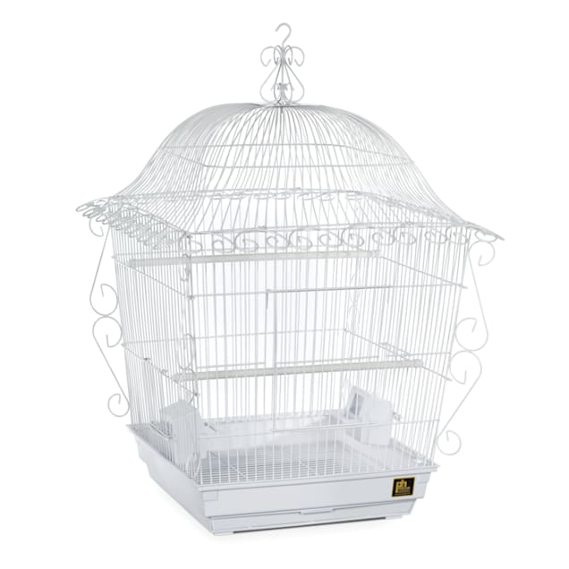 Prevue Pet Products Designer Scrollwork Series Jumbo Tiel Scrollwork Bird Cage in White - Carousel image #1
