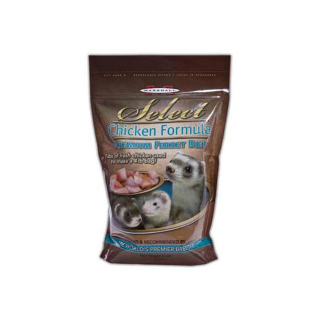 Marshall Pet Products Select Chicken Formula Premium Ferret Diet - Carousel image #1