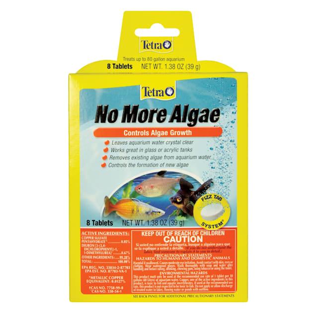 Tetra No More Algae Tablets Controls Algae In Aquariums, 8 Count - Carousel image #1