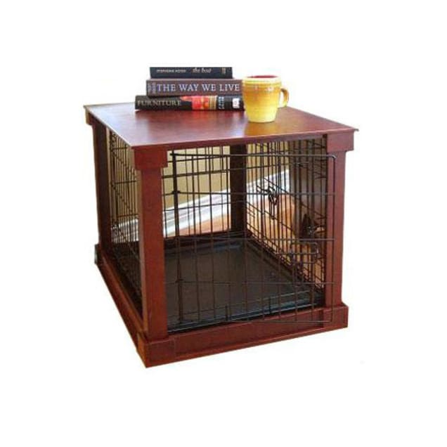"""Zoovilla Dog Crate with Wooden Cover, 28"""" L X 42"""" W X 30"""" H - Carousel image #1"""