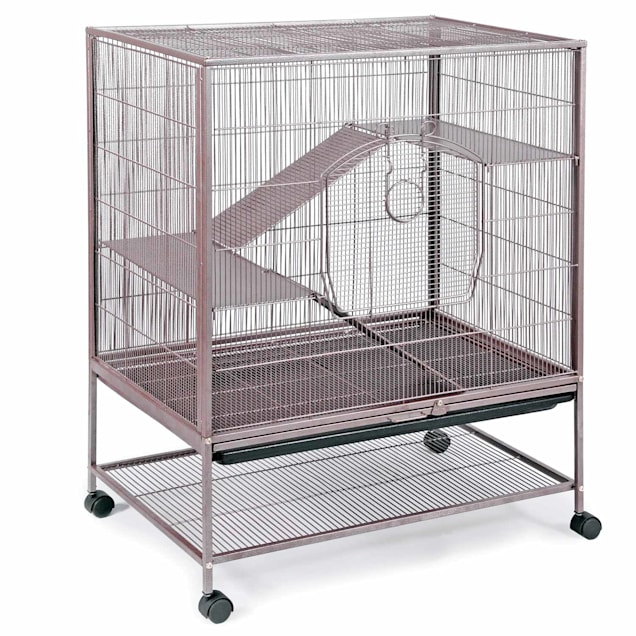 Prevue Pet Products Earthtone Dusted Rose Rat & Chinchilla Cage - Carousel image #1