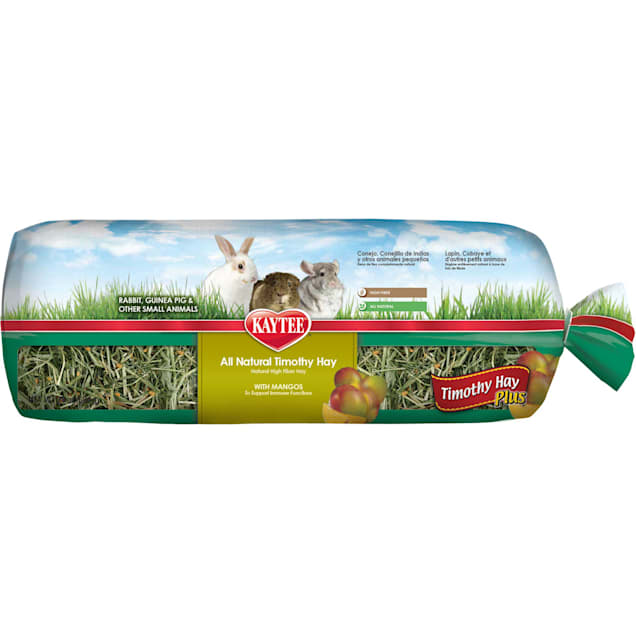 Kaytee Timothy Hay Plus With Mango For Rabbits & Small Animals, 24 oz. - Carousel image #1