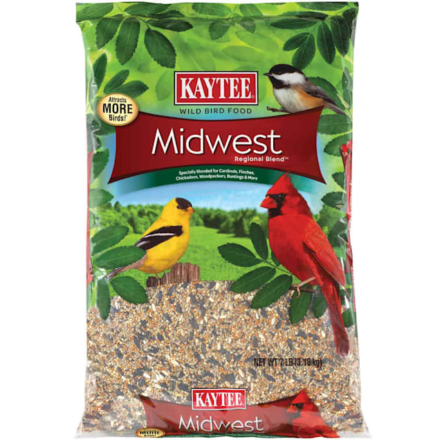 Kaytee Midwest Regional Blend Wild Bird Food, 7 lb. - Carousel image #1