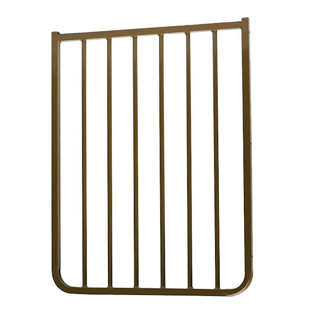"""Cardinal Gates Stairway Special Outdoor 21 3/4"""" Gate Extension in Brown - Carousel image #1"""