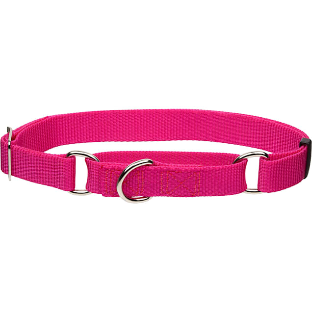 "Coastal Pet No Slip Personalized Dog Collar in Pink Flamingo, 1"" Width - Carousel image #1"