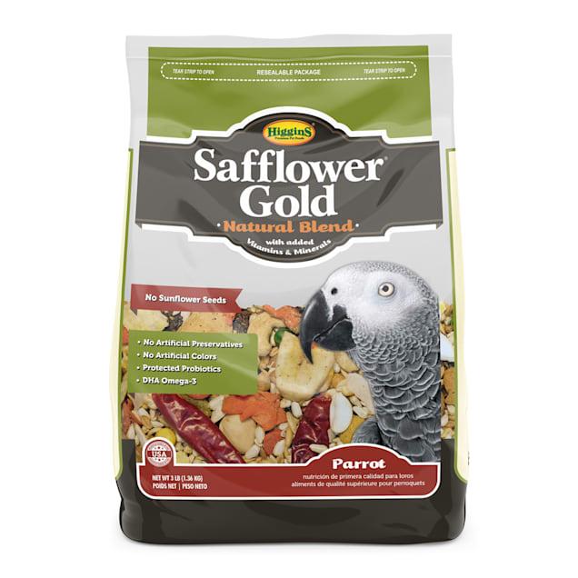 Higgins Safflower Gold - Parrot, 3 lb - Carousel image #1