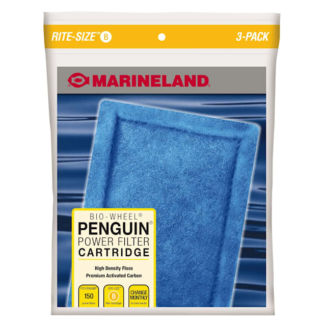 Marineland Rite-Size Bonded Filter Sleeve Three-Pack for Penguin 150/125 Power Filters - Carousel image #1