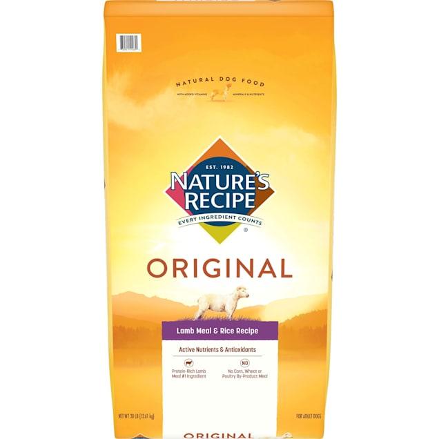 Nature's Recipe Lamb Meal & Rice Adult Dog Food, 30 lbs. - Carousel image #1