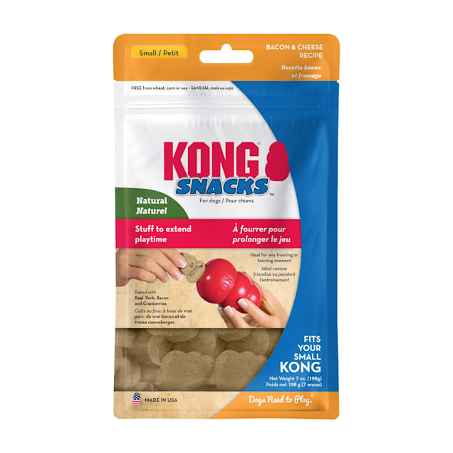 KONG Stuff'N Bacon & Cheese Dog Treats, Small, 7 oz. - Carousel image #1
