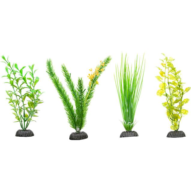 Imagitarium Green Plastic Aquarium Plants Midground Value Pack - Carousel image #1