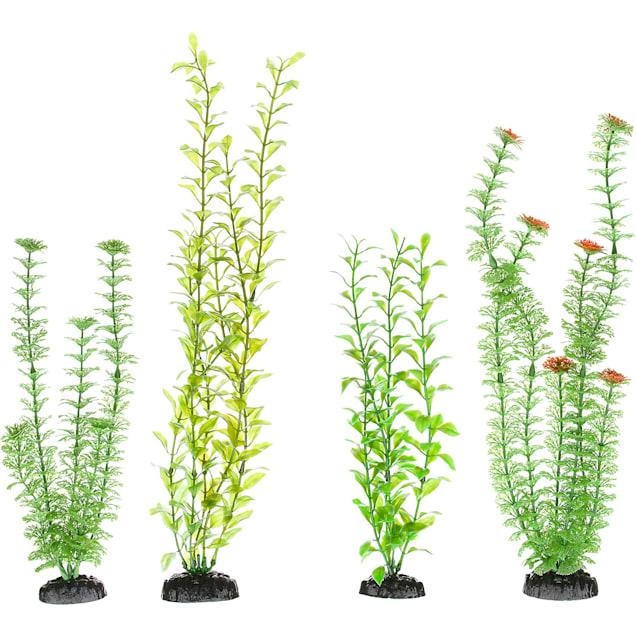 Imagitarium Variety Pack Background Plastic Aquarium Plants - Carousel image #1