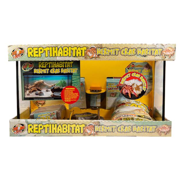 "Zoo Med ReptiHabitat Hermit Crab Kit, 11.5"" L X 21.5"" W X 12"" H - Carousel image #1"