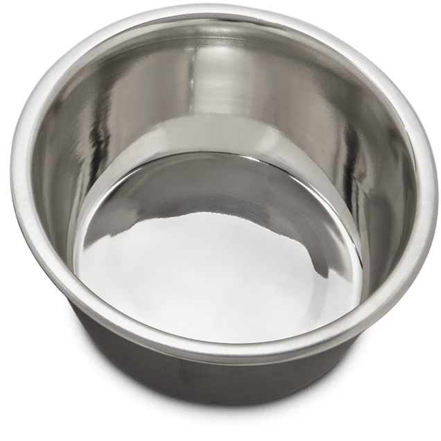 Bowlmates Stainless Steel Bowl Insert, Large, 7 Cup - Carousel image #1