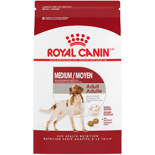 Royal Canin Size Health Nutrition Medium Adult Dry Dog Food, 30 lbs. - Carousel image #1