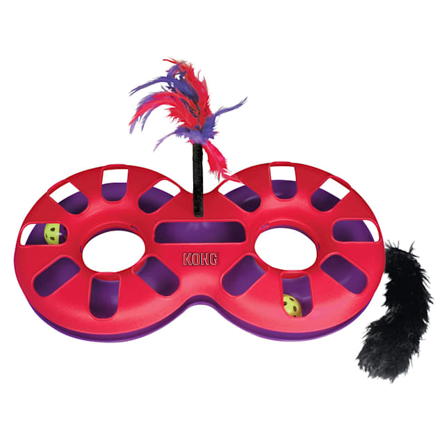 KONG Figure Eight Track Cat Toy - Carousel image #1