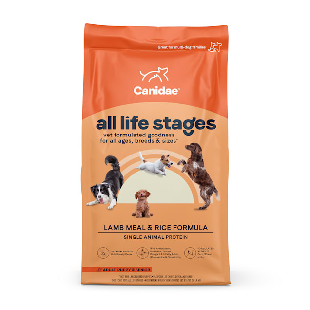 CANIDAE All Life Stages Lamb Meal & Rice Formula Dry Dog Food, 30 lbs. - Carousel image #1
