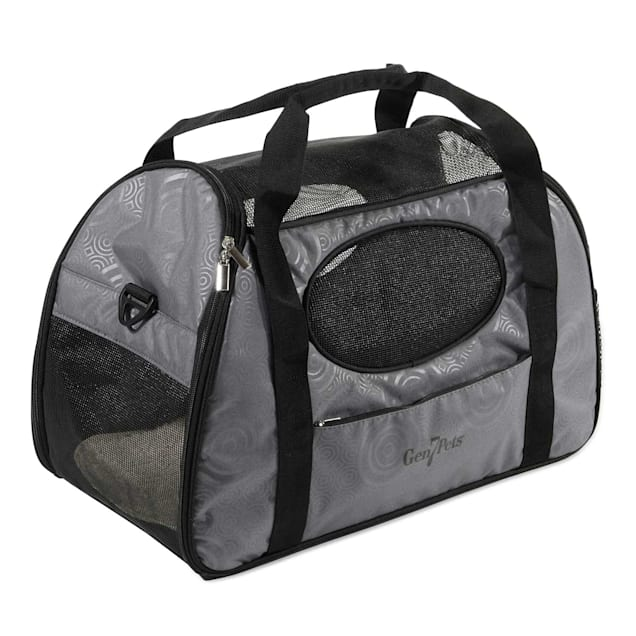 Gen7Pets Carry-Me Fashion Pet Carrier in Gray, Large - Carousel image #1