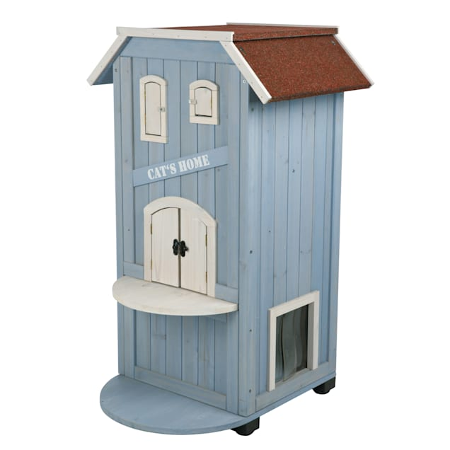 """Trixie 3-Story Cat Home Playground, 37""""H - Carousel image #1"""