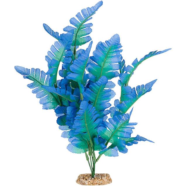 Imagitarium Silk Fern Blue Aquarium Plant - Carousel image #1