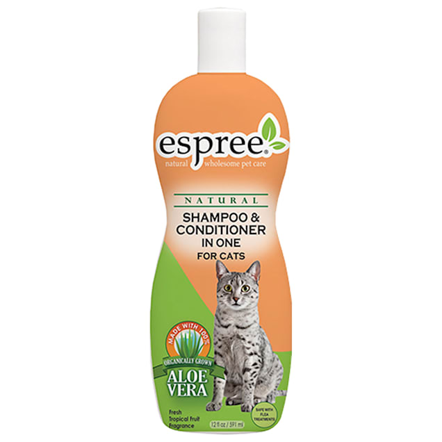 Espree Natural Cat Shampoo & Conditioner In One, 12 oz. - Carousel image #1