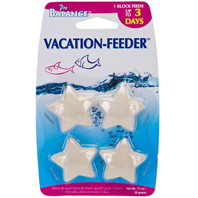 Penn Plax Star Shape Vacation Fish Feeder 4-pack, 1 oz. - Carousel image #1