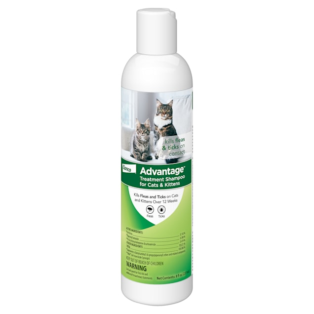 Advantage Flea & Tick Treatment Shampoo for Cats & Kittens, 8 fl. oz. - Carousel image #1