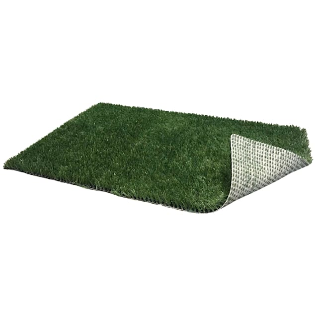 """PoochPads Indoor Dog Potty Replacement Grass, 23"""" L X 15"""" W X .5"""" H - Carousel image #1"""