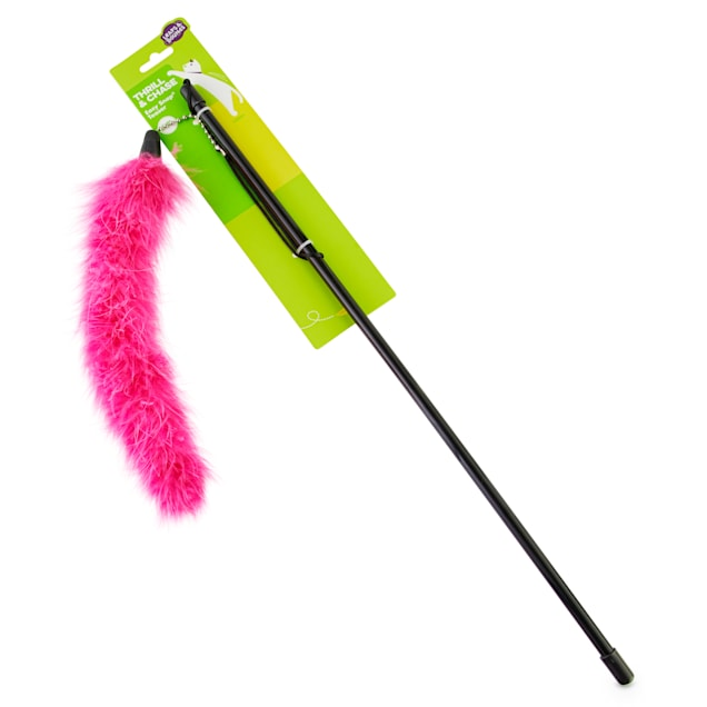Leaps & Bounds EZ Snap Bright Pink Teaser Wand - Carousel image #1