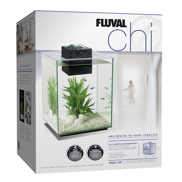 Fluval Chi Aquarium Kit, 5 Gallons - Carousel image #1