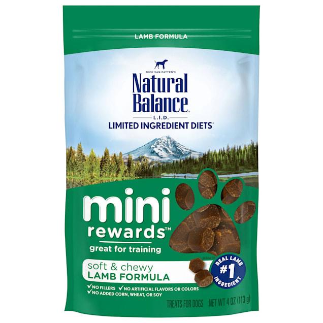 Natural Balance Mini Rewards Lamb Formula Dog Treats, 4 oz. - Carousel image #1