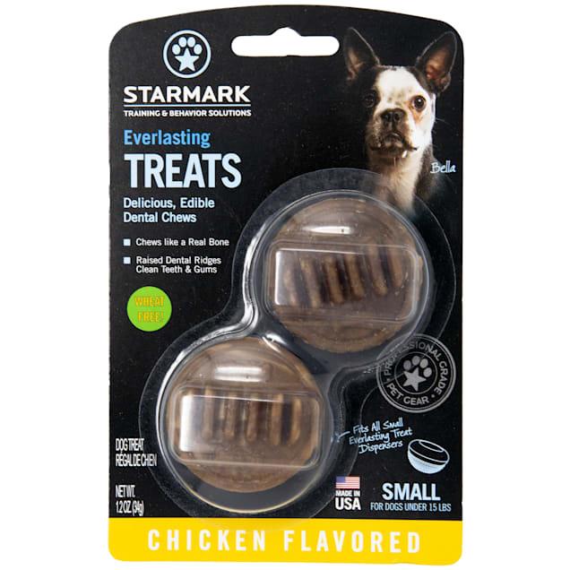 Starmark Everlasting Chicken Dog Dental Chew, 2 Count - Carousel image #1