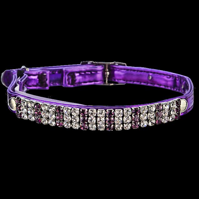 Bond & Co Bling Metallic Purple Collar - Carousel image #1