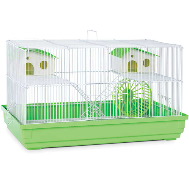 """Prevue Pet Products Lime Green & White Deluxe Small Animal Cage, 23"""" L X 12.75"""" W X 12.75"""" H - Carousel image #1"""