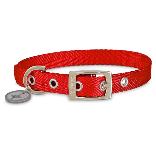 Good2Go Adjustable Red Nylon Buckle Dog Collar, Medium - Carousel image #1