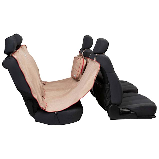 Kurgo Heather Hammock Tan Dog Car Seat Cover - Carousel image #1