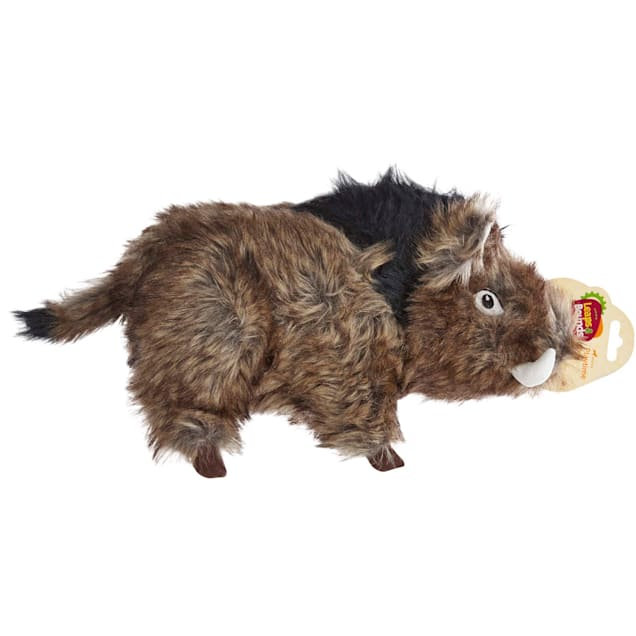 Leaps & Bounds Large Wildlife Boar Plush Dog Toy, Large - Carousel image #1