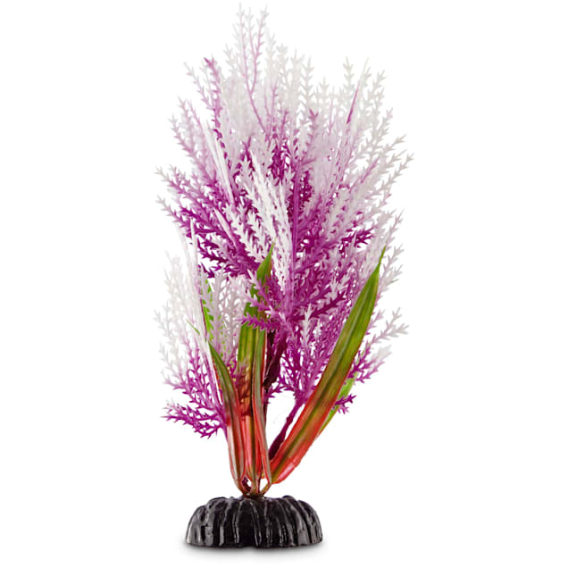Imagitarium Purple Hairgrass Foreground Plastic Aquarium Plant - Carousel image #1