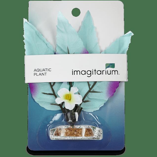 Imagitarium Small Leaf Silk Plant Aquatic Decor - Carousel image #1