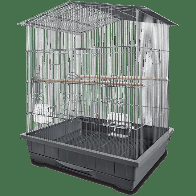 "You & Me Gable Playtop Parrot Habitat, 24.75"" L X 20.75"" W X 32"" H - Carousel image #1"