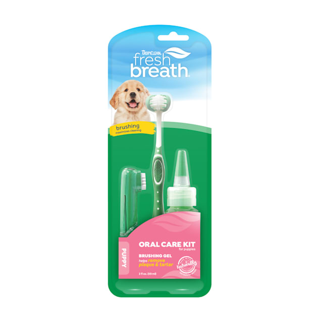 TropiClean Fresh Breath Oral Care Puppy Kit - Carousel image #1