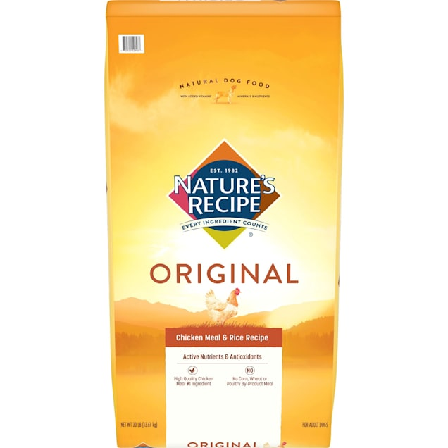 Nature's Recipe Chicken Meal & Rice Adult Dog Food, 30 lbs. - Carousel image #1