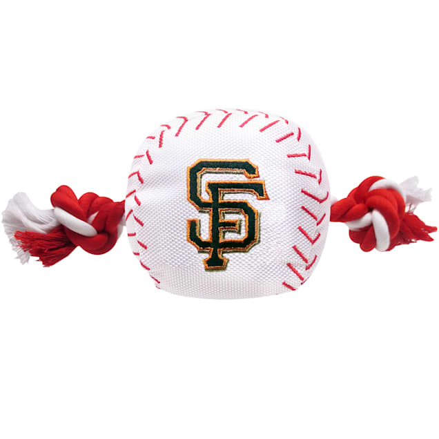 Pets First MLB San Francisco Giants Baseball Toy, Large - Carousel image #1